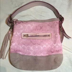 Coach Pink Shoulder Bag Crossbody purse